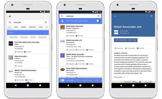 Google ofertas de trabajo