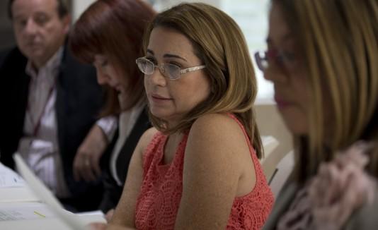 Leticia Fernández presentó ayer el proceso presupuestario de la UPR para el año fiscal 2017-2018.