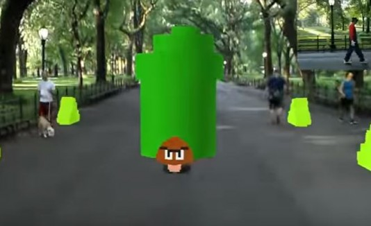 """Así sería un videojuego de """"Mario Bros"""" con realidad aumentada"""