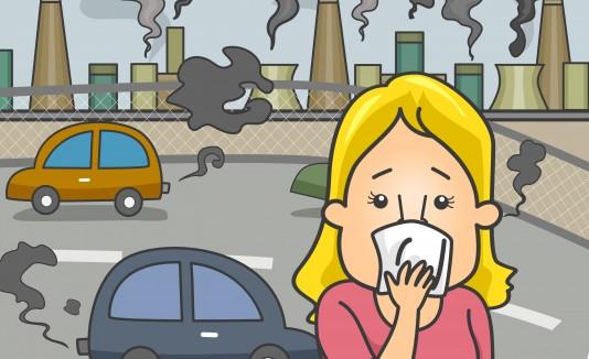 Los contaminantes que dejan los carros, fábricas y plantas químicas perjudican directamente a tu piel.