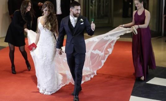 Lionel Messi boda