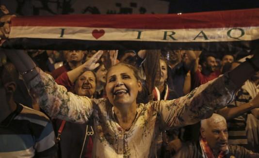 Irak celebra la reconquista de Mosul