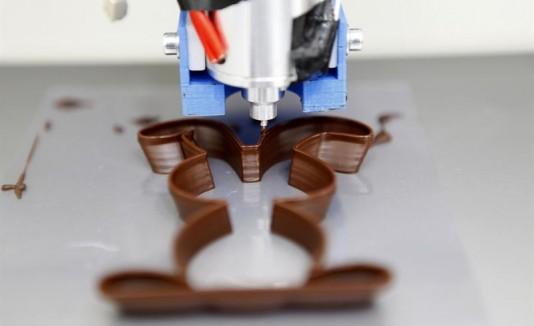 La impresión 3D on demand de chocolate es un paso más hacia la personalización alimentaria.