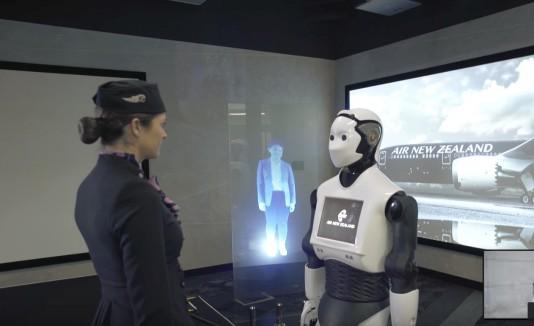 Air New Zealand Robot