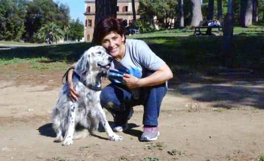 Anna y su perra