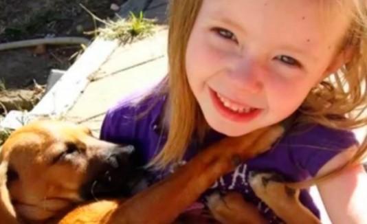 Katie y su perro