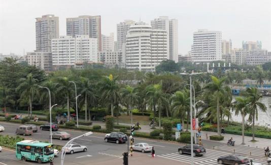 La isla china de Hainan