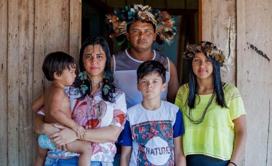 familia brasileña