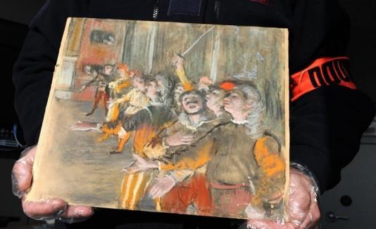 """""""Les Choristes"""" es una obra del pintpr"""