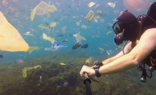 Mar de basura