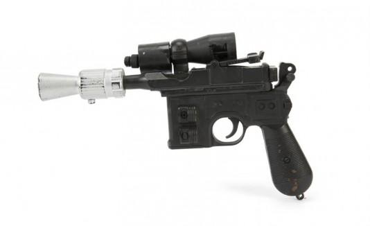 Pistola de Han solo