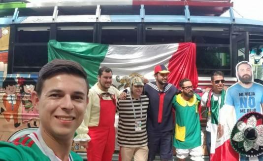 Mexicano en Rusia