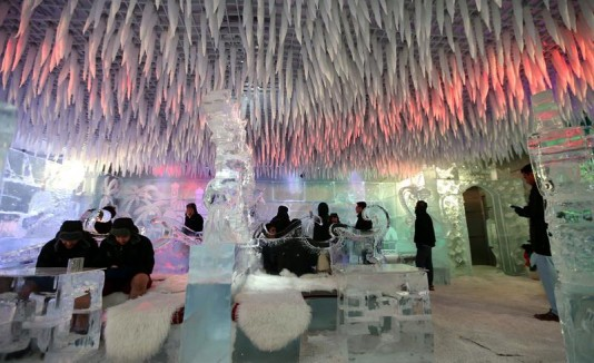 Chillout the Ice Lounge