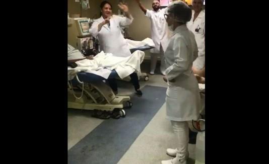 enfermeras bailadoras