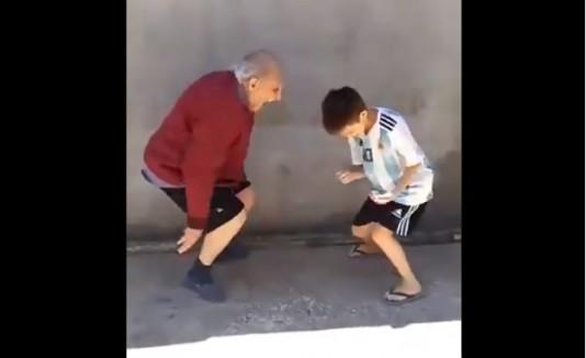 Abuelo bailador