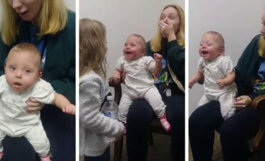 Bebé prematura vuelve a oir