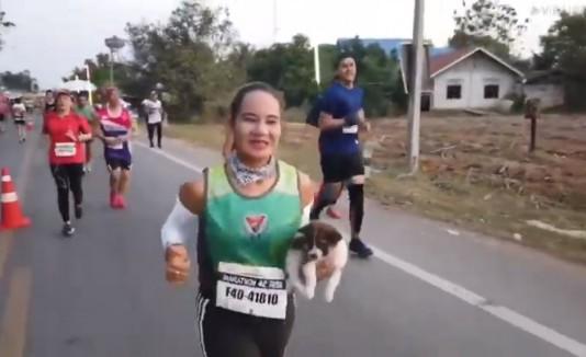 Corredora Maratón