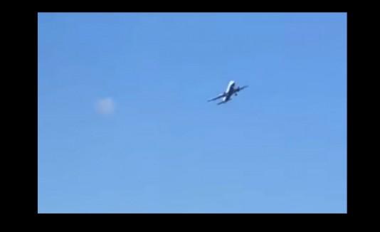 Avión turbulencias