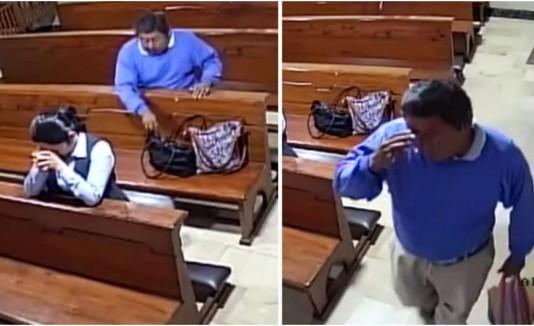 Ladrón iglesia
