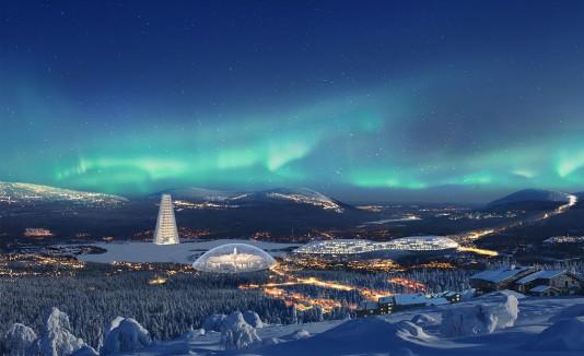 Dentro de la República de Santa Claus habrá hoteles, restaurantes y nevadas artificiales durante todo el año. (  Republic of Santa Claus )