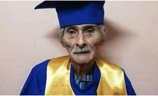 Estudiante 90 años
