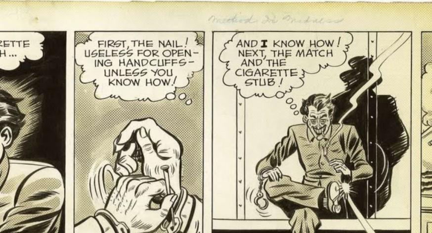 En 1943  varios diarios dieron espacio en sus páginas al héroe encapuchado.