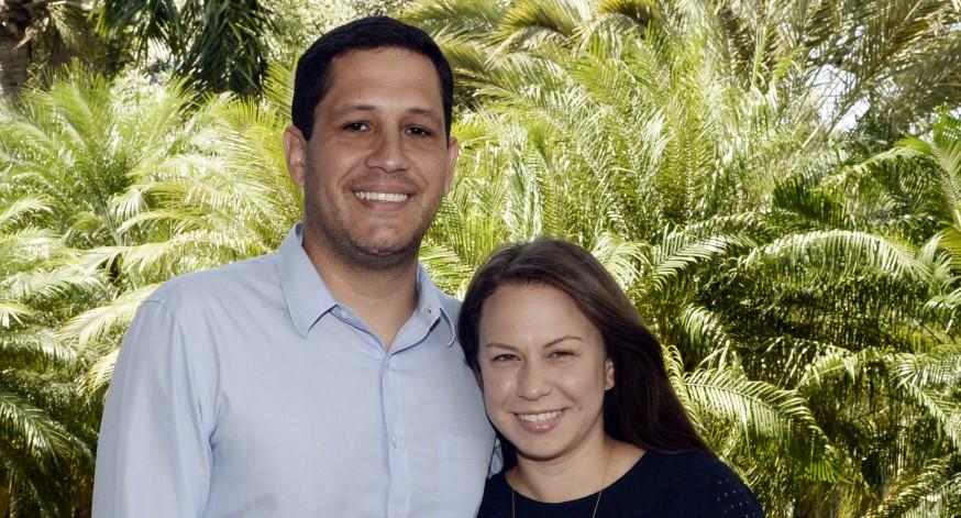 José Lebrón y Sheilla Torres