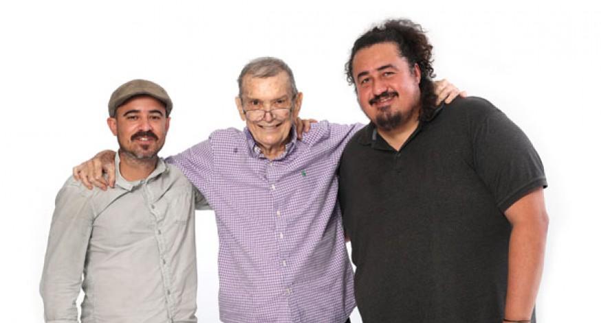 """Ricardo Olivero, Jerano """"Tuto"""" Marchand y Julio César Torres"""