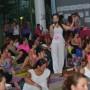 Mara Saldaña fue una de las instructoras de yoga del evento.