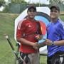 Los gemelos  Javier y José Irizarry fueron voluntarios hace cuatro años en Mayagüez 2010.