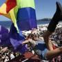 Los participantes exigieron  la tipificación del delito de homofobia.