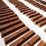 Chocolates en una fábrica.