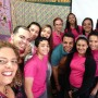 Los alumnos y  maestras compartieron con los invitados en la actividad en la escuela José Gualberto Padilla,