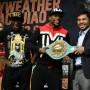 El título Emerald del WBC fue creado especialmente para esta pelea.
