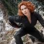 Scarlett Johansson como el personaje Black Widow.