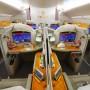 Interior del Emirates Airbus A380.
