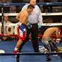 """""""Zurdo"""" Rosario derrotando a Andrés Balderas."""