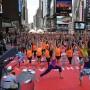 Día Internacional del Yoga en Nueva York.