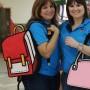 Julia Colón y Marializ Romero son las propietarias de Live Toons, distribuidora local de la línea Jump From Paper.
