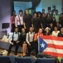 Integrantes del coro de la UPR de Cayey en Quito, Ecuador.