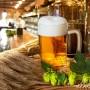 El lúpulo tiene el poder darle sabor a la cerveza y cuerpo.