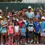 Niños y jóvenes disfrutaron en grande su compartir con el famoso jugador.