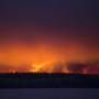 Incendio en Alberta, Canadá.