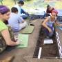 También se encontraron varias terrazas agrícolas en Ceiba.