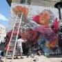 """""""Shet Rock"""" explicó que usa su arte como una plataforma para unir al pueblo."""