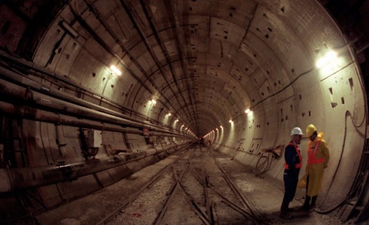 Dover Calais Tunnel >> Eurotúnel, una obra faraónica