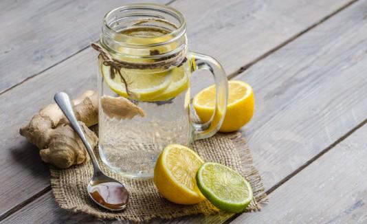 Dieta del jengibre con limon